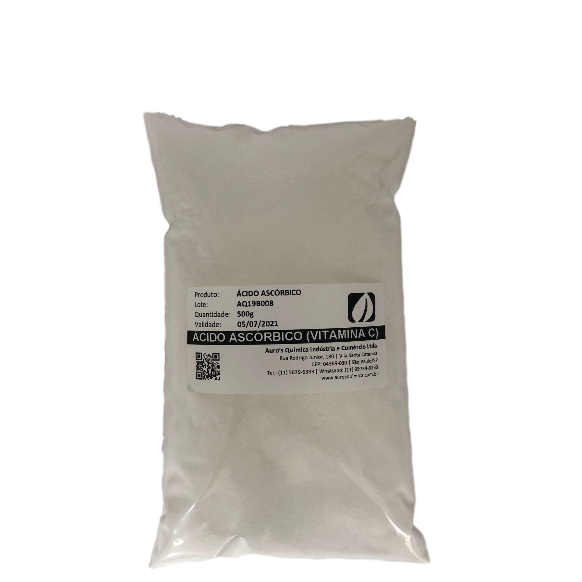 Ácido Ascórbico (Vitamina C) - 500g