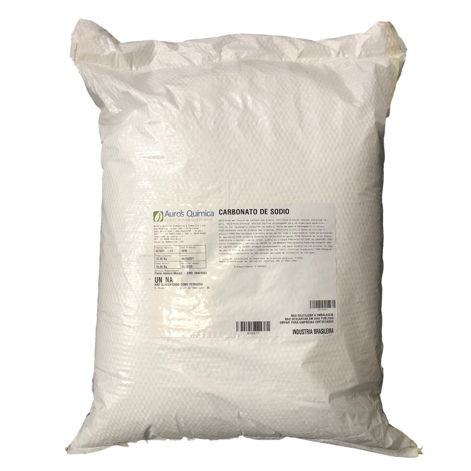 Carbonato de Sódio (Barrilha) - 25 Kg