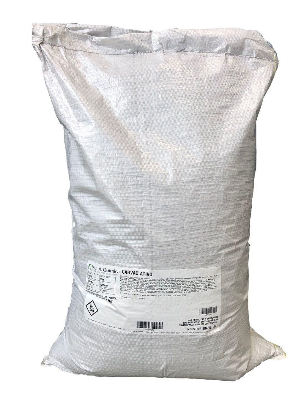 Carvão Ativo Vegetal (Pó Fino) - 10 Kg