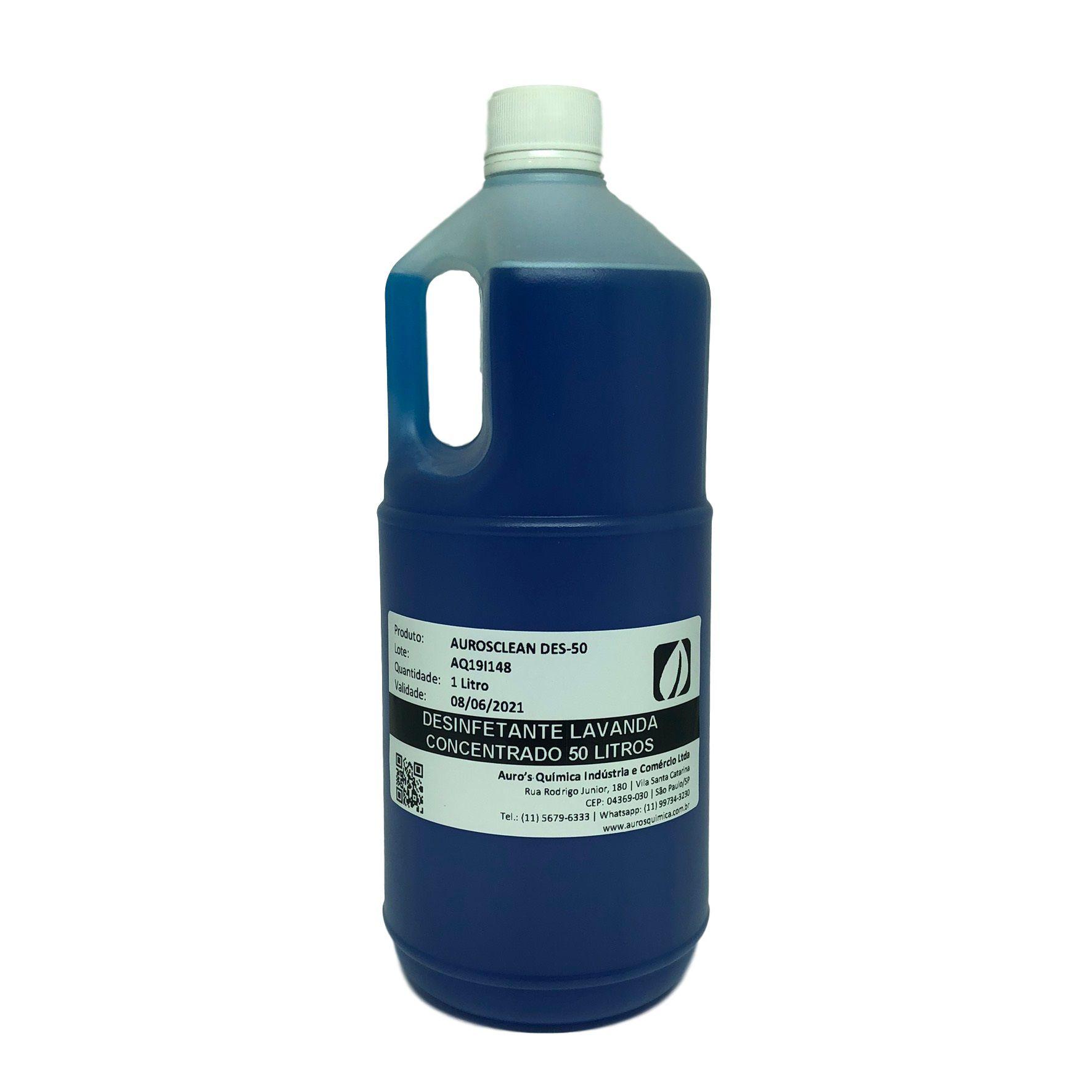 Desinfetante Concentrado (Lavanda) - 50 Litros