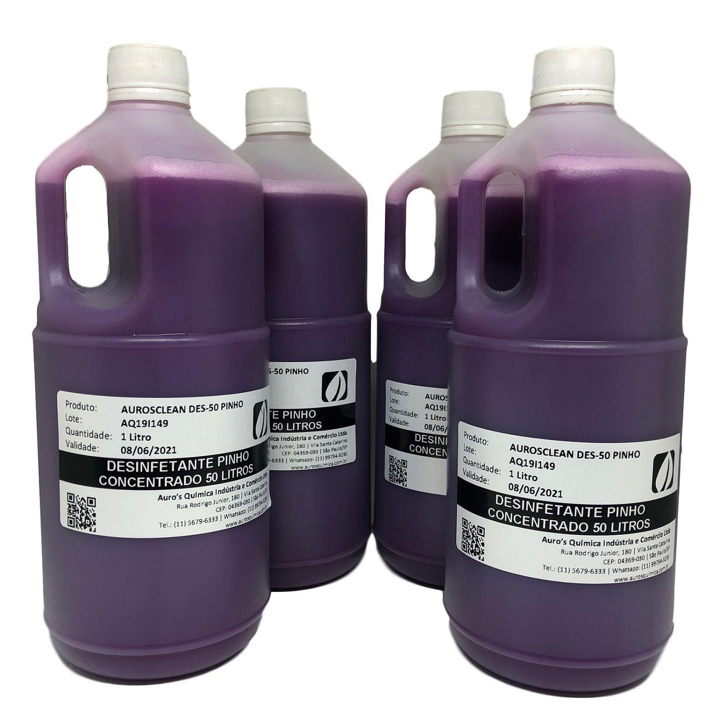Desinfetante Concentrado (Pinho) - 50 Litros