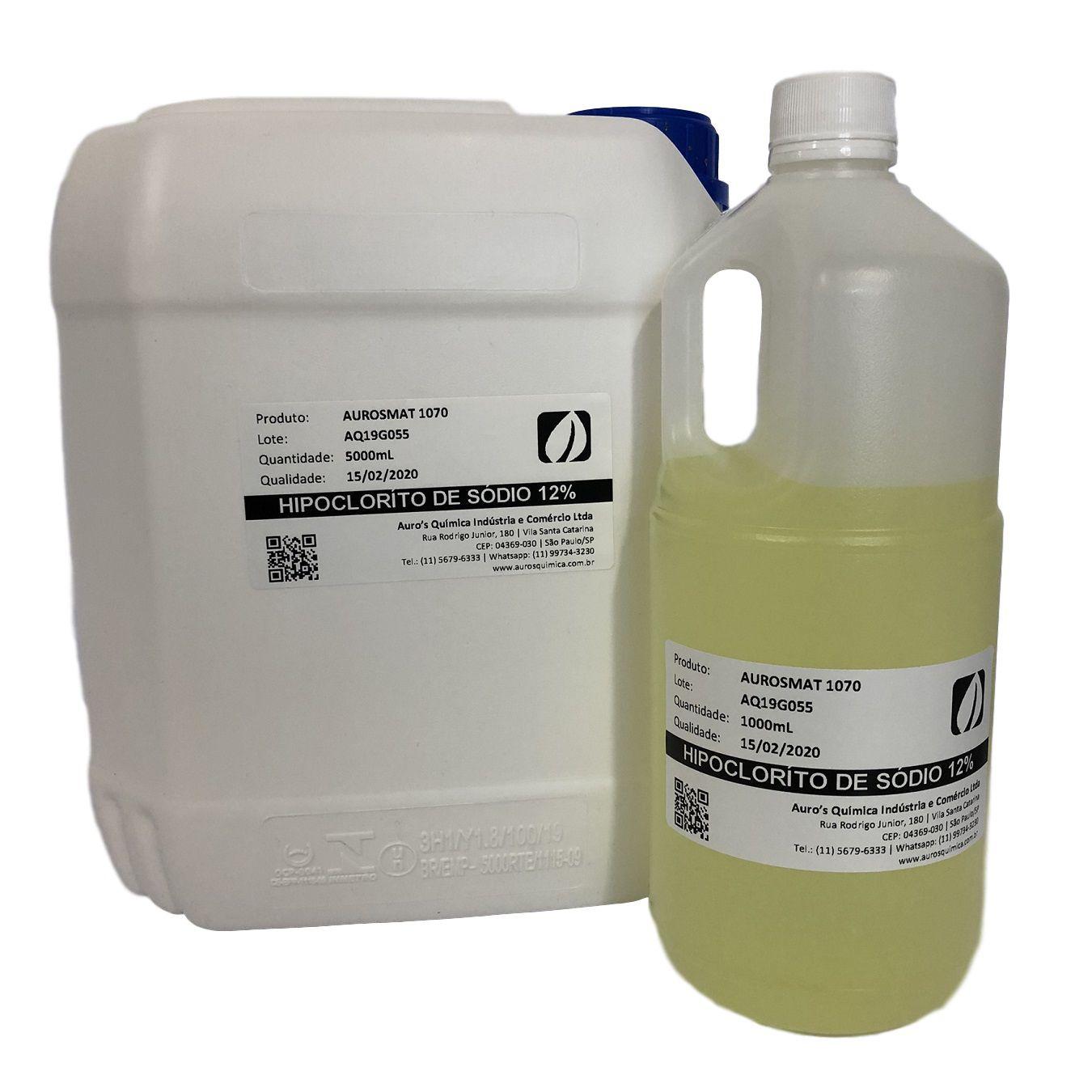 Hipoclorito de Sódio 12% - 1 Litro