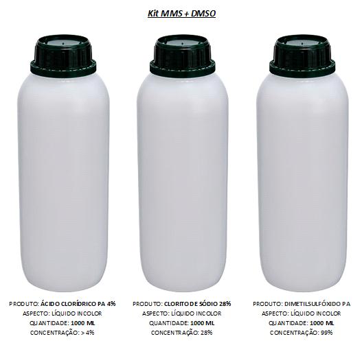 Kit MMS (2000mL) + DMSO P.A. 99,9% (1000mL)