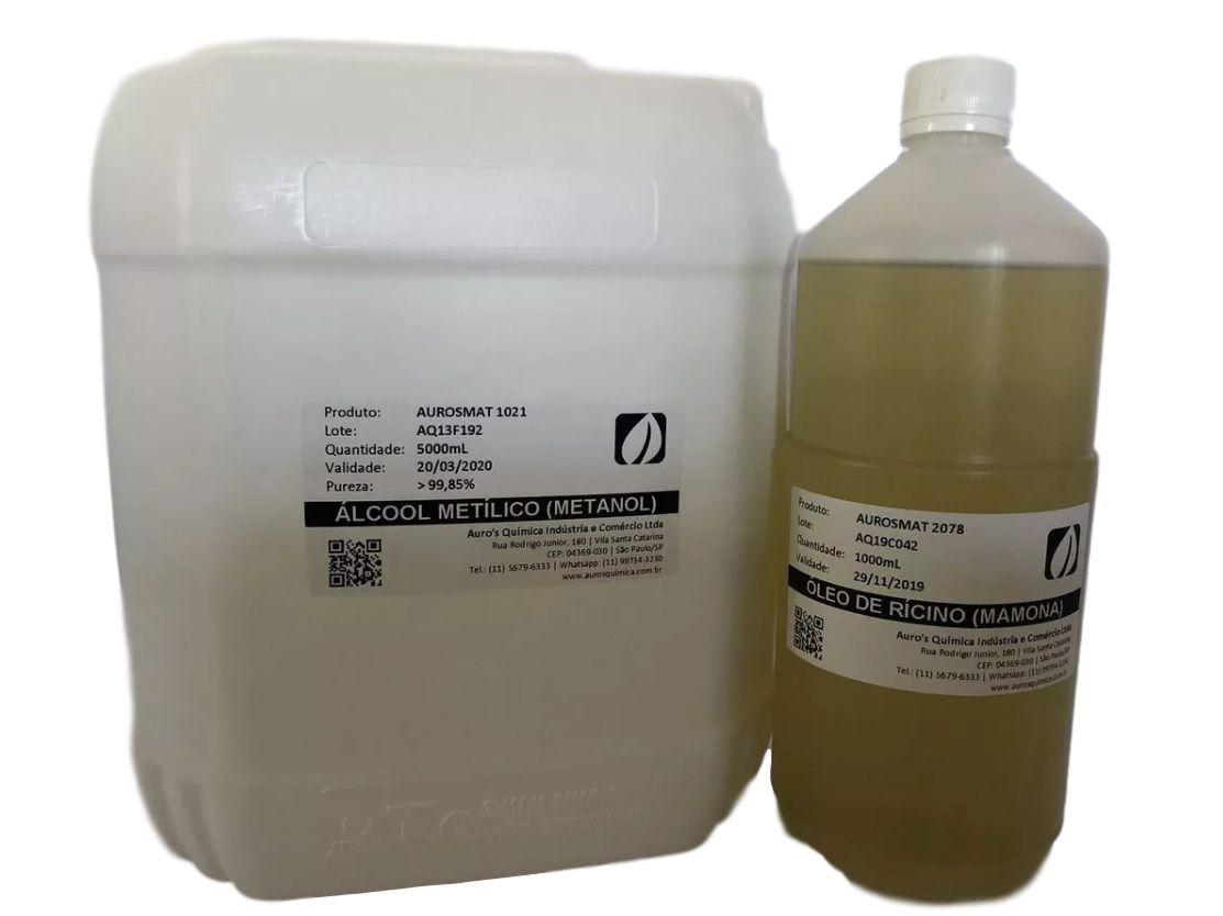 Metanol (5 Litros) + Óleo de Rícino (1 Litro)