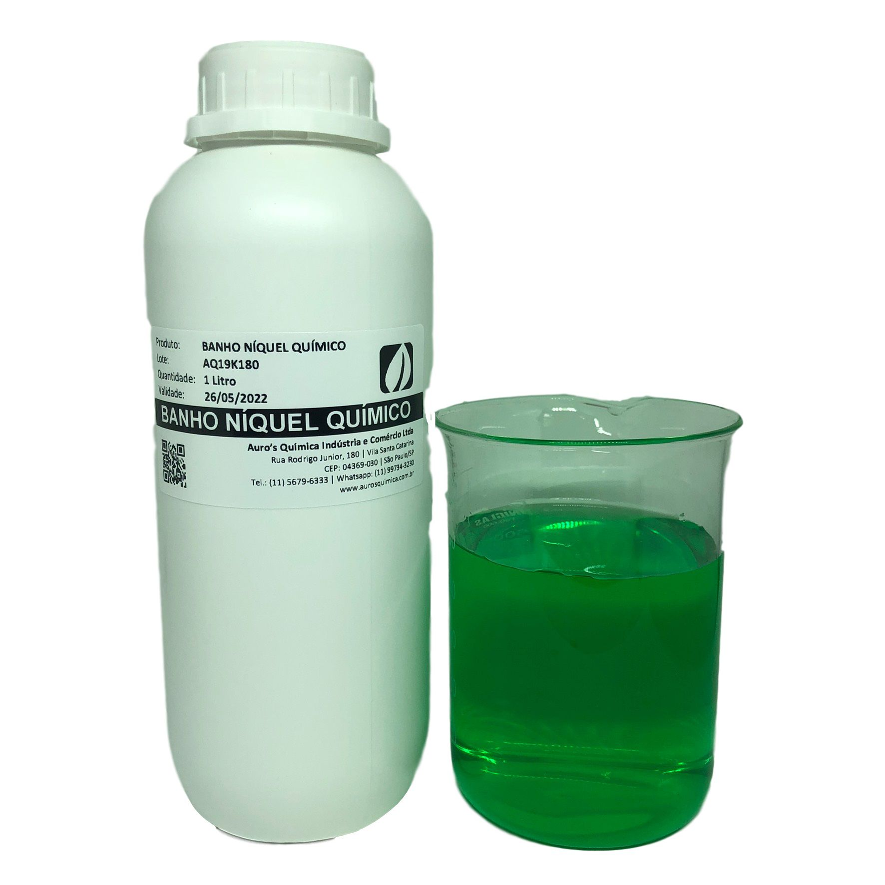Níquel Químico - 3 Litros