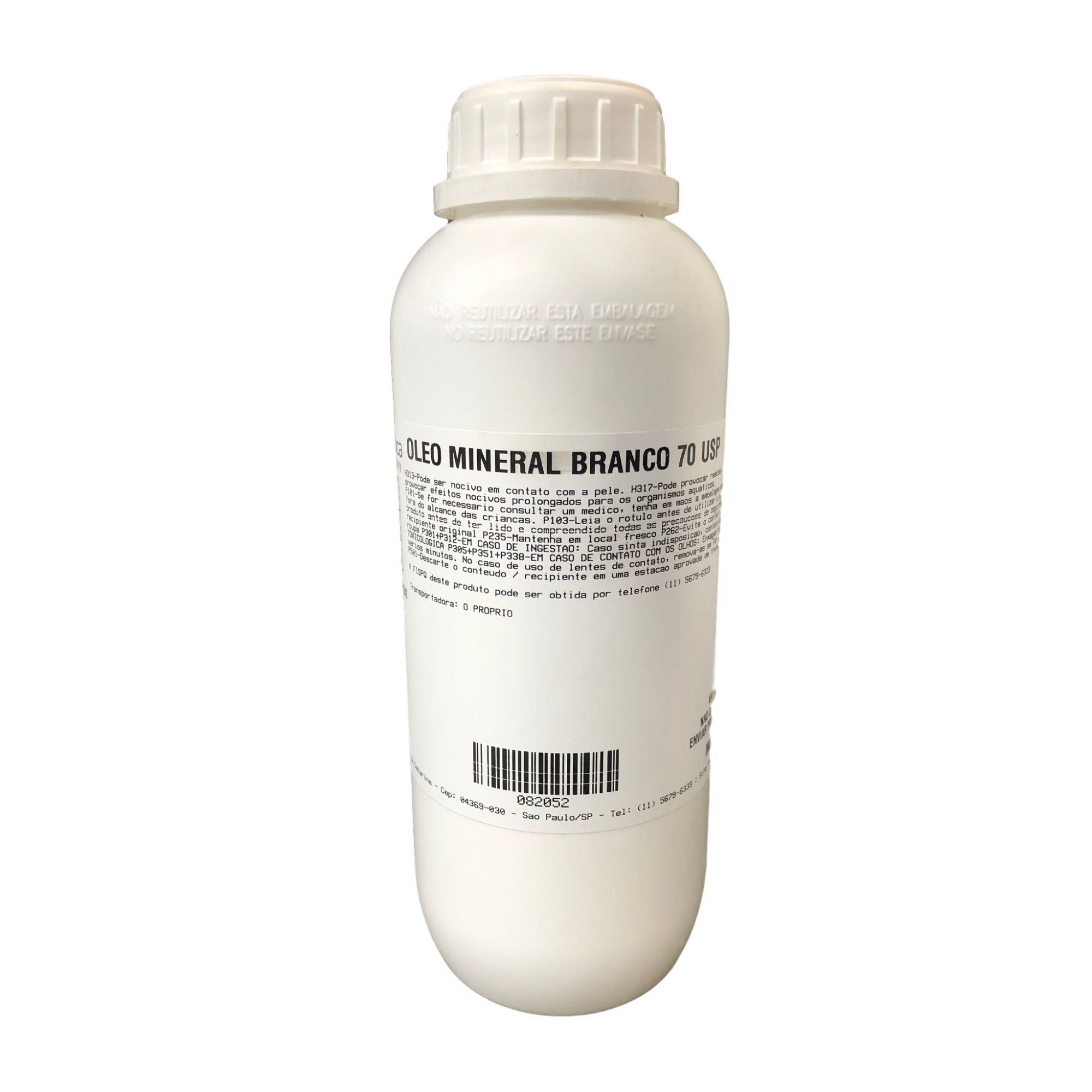 Óleo Mineral Branco USP - 50 Litros   40 Kg