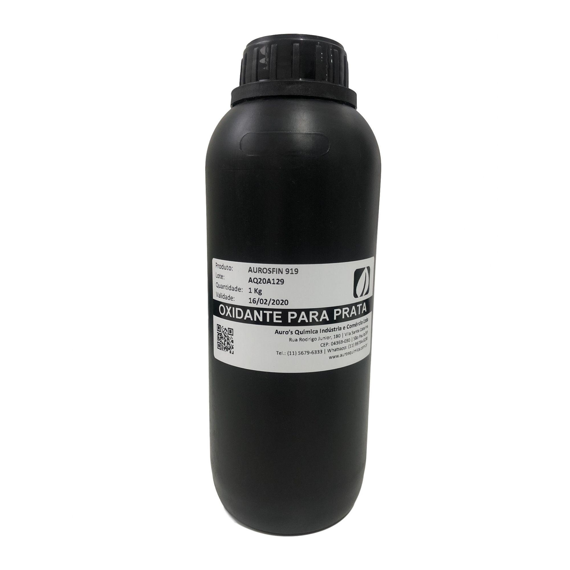 Oxidante para Prata - 1 Litro