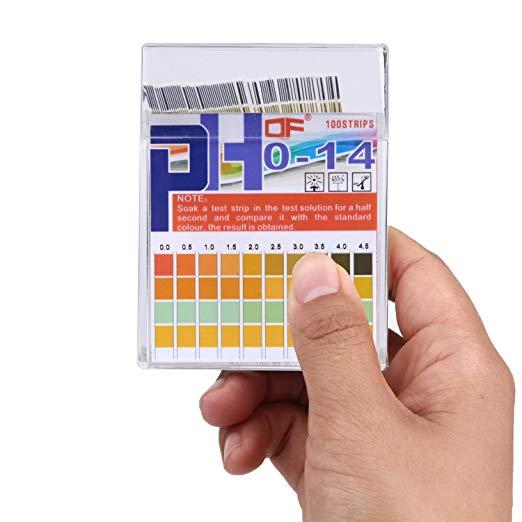 Papel Indicador pH 0-14