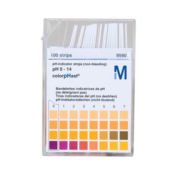 Papel Indicador pH 0-14 (Merck)