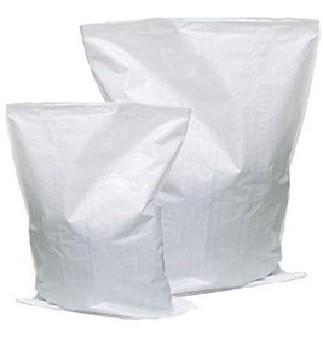 Saco de Ráfia Branco Laminado 45x60 - 10 Unidades