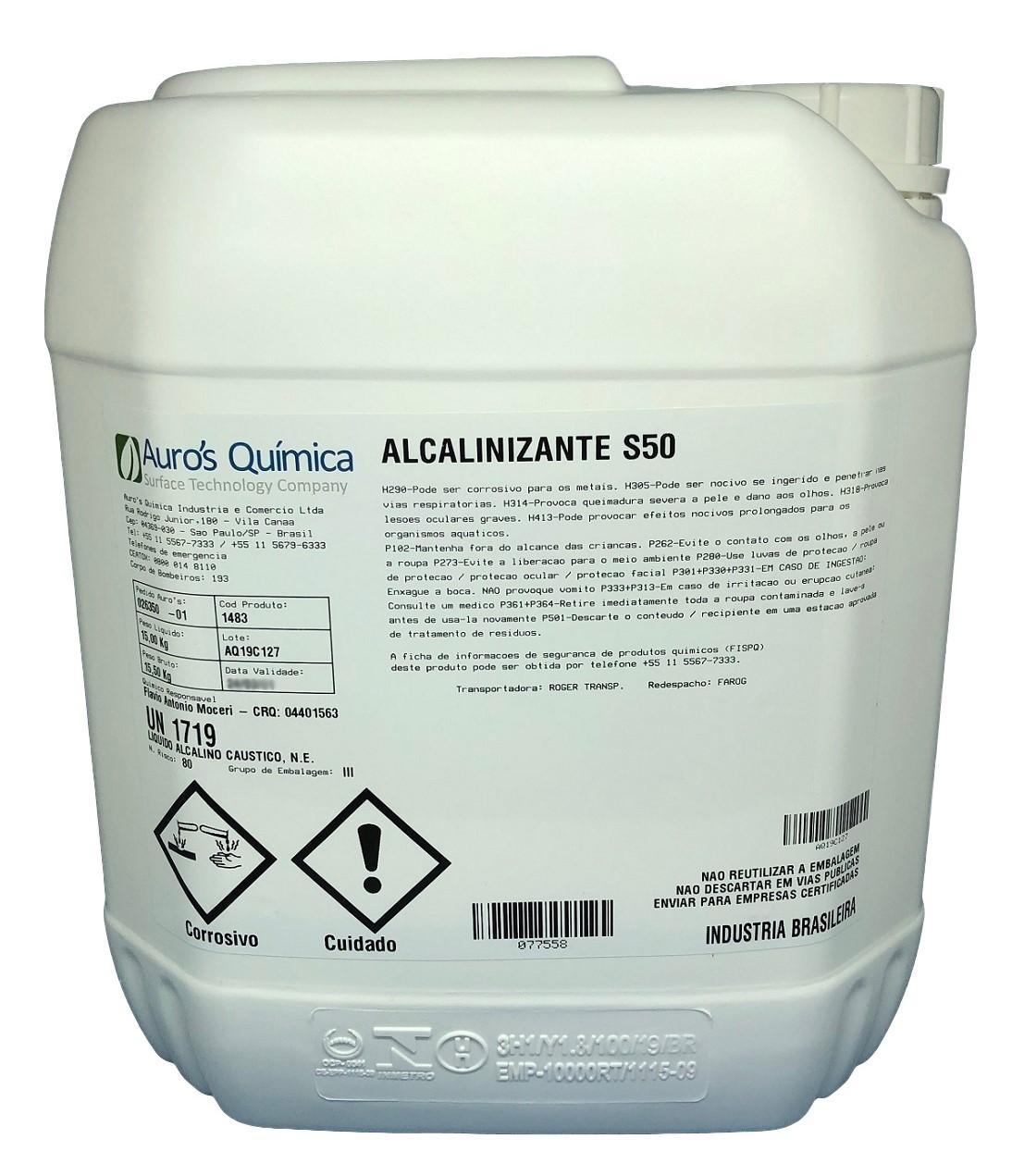 Soda Cáustica 50% - 10 Litros