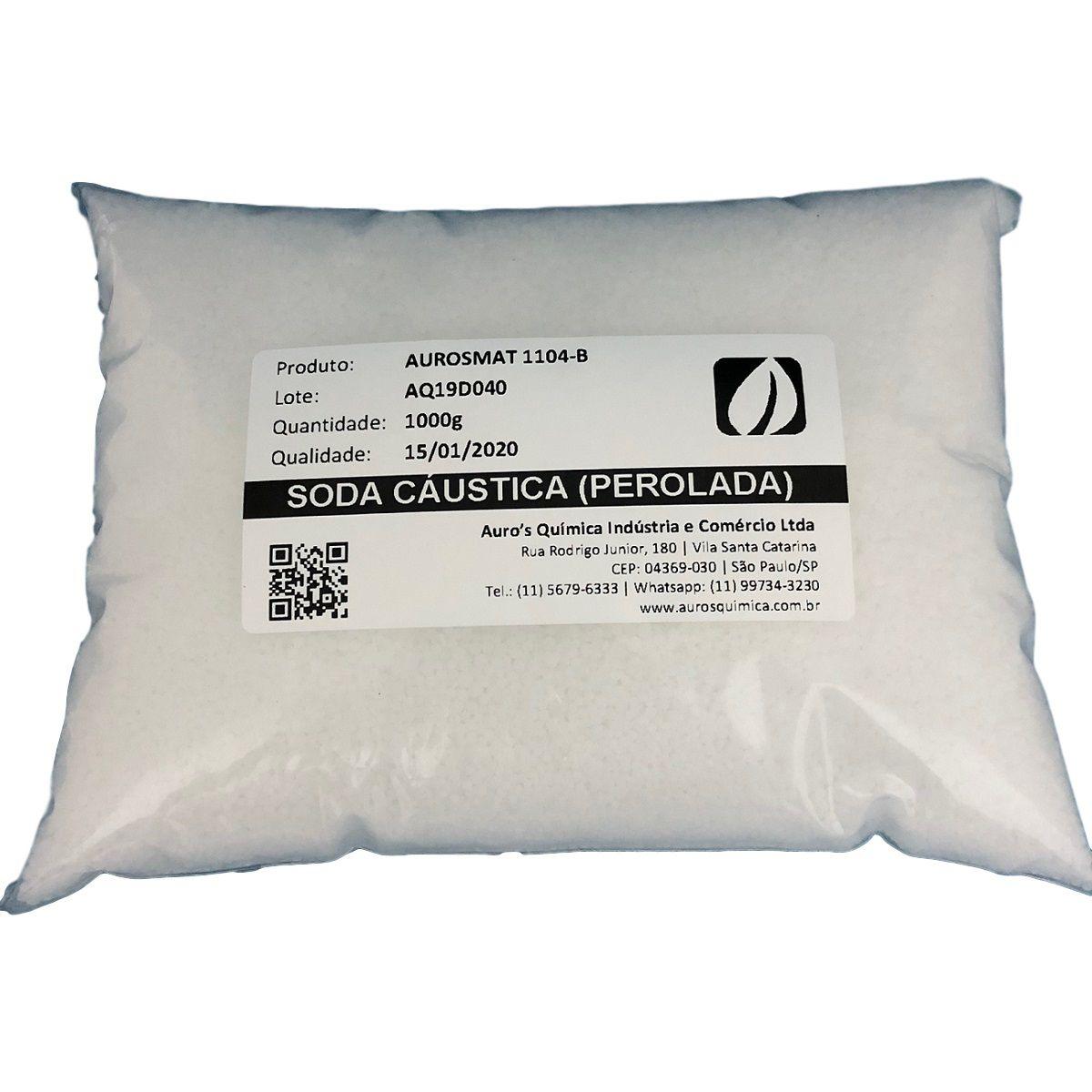 Soda Cáustica Perolada 99% - 50 Pacotes 1 Kg