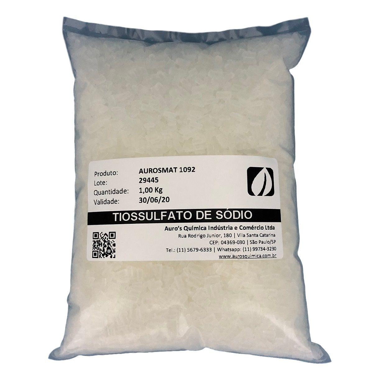 Tiossulfato de Sódio - 1 Kg (Anti-Cloro)