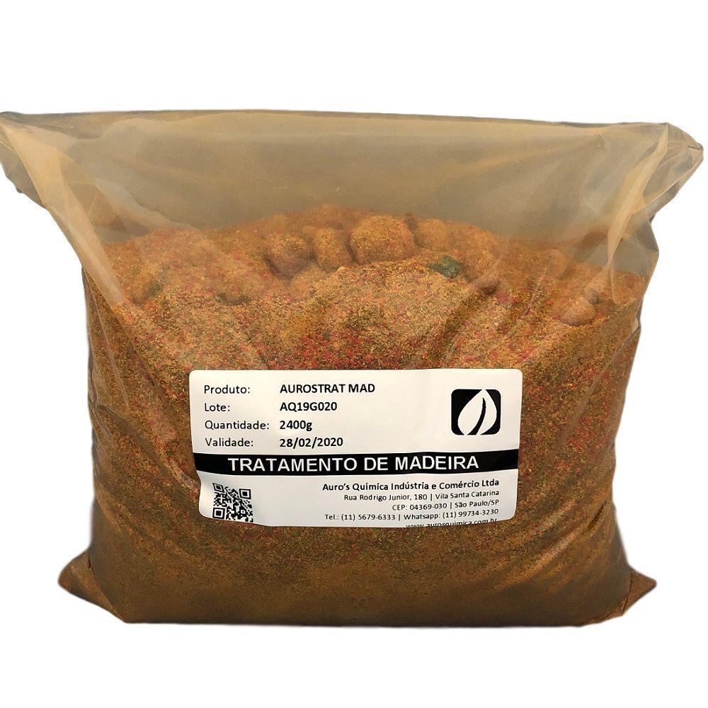 Tratamento de Madeira - 200 Litros | 2 Sacos 2,4 Kg