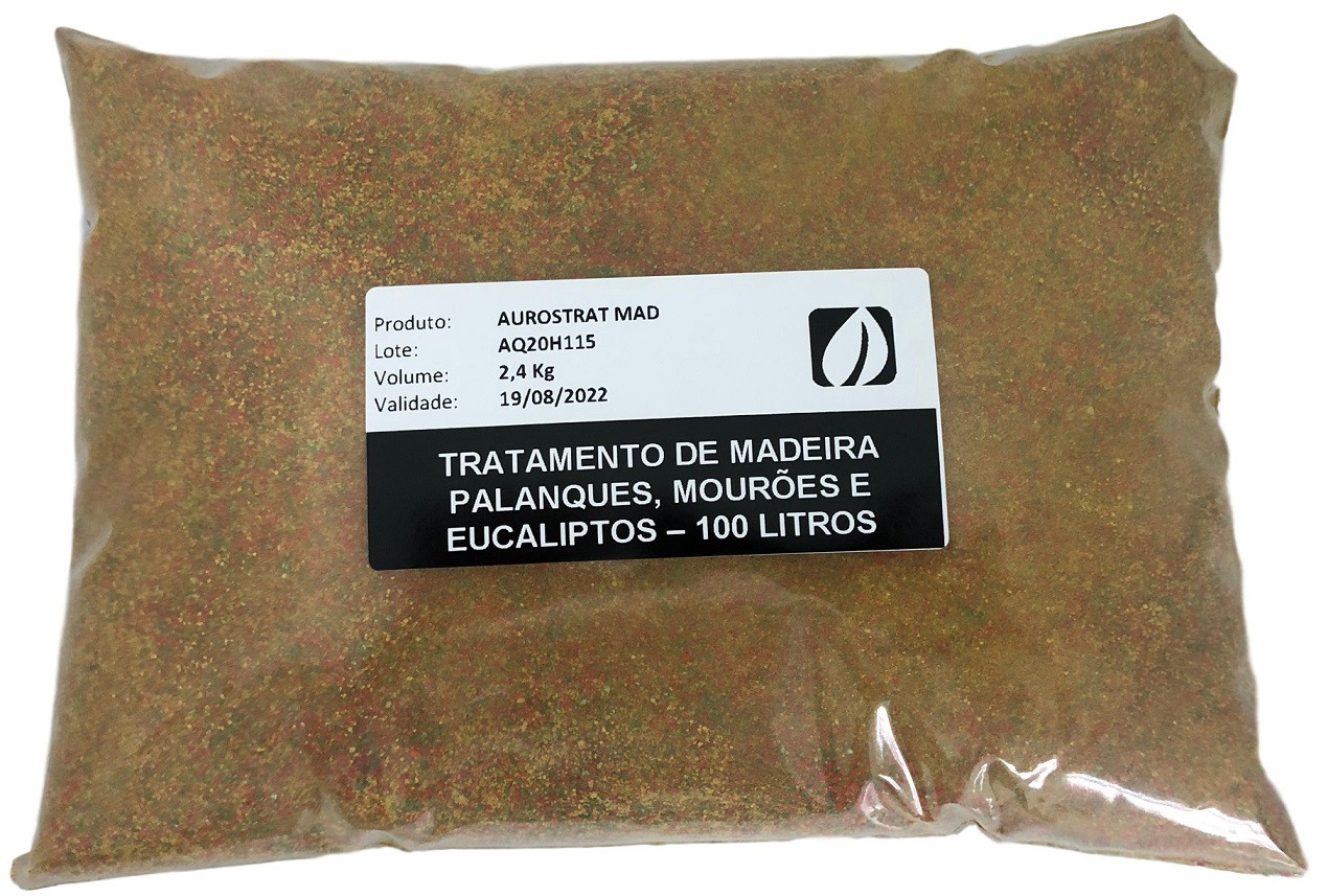 Tratamento De Madeira - 500 Litros | 5 Sacos 2,4 Kg