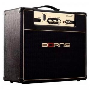 Amplificador Borne Clássico T7 | Valvulado | 7 Watts | Preto | Para Guitarra