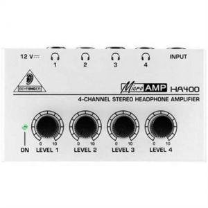 Amplificador Fone Behringer Ha400 Microamp