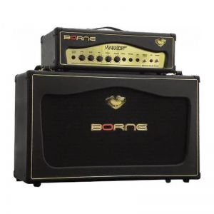 Amplificador Guitarra Borne Warrior 200 Caixa + Ca