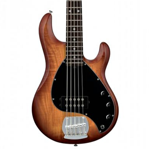 Baixo 5 Cordas Sterling Sub Ray 5 Honeyburst Satin