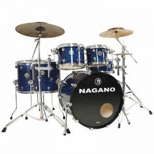 Bateria Nagano Concert Full Celulloid 22 Azul
