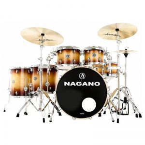 Bateria Nagano Concert Full Lacquer Gold Burst