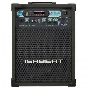 Caixa Isabeat Mb50 Bluetooth Preto