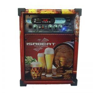 Caixa Isabeat Mb50 Usb/Bt Cerveja