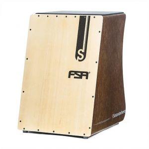 Cajon Fsa Standard Fs2508 Eletrico Tabaco