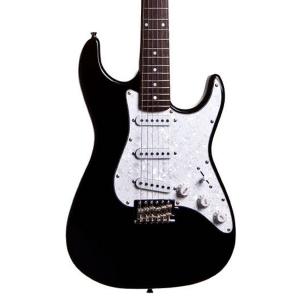 Guitarra Epiphone Seizi Vision Preta Escudo Branco Perolado