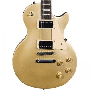 Guitarra Les Paul Michael Strike Gm730N Gold