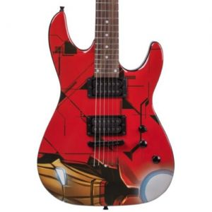 Guitarra Phx Marvel Gmi-1 Iron Man