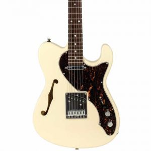 Guitarra Tagima T484 Tele Semi Acustica Branco Vin