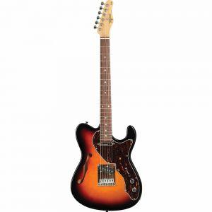 Guitarra Tagima T484 Tele Semi Acustica Sunbusrt