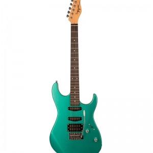 Guitarra Tagima Tg510 Woodstock Verde Metalico