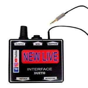 Interface Para Live Celular - New Live Dueto