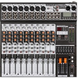 MESA 12 CANAIS SOUNDCRAFT SX1202FX USB