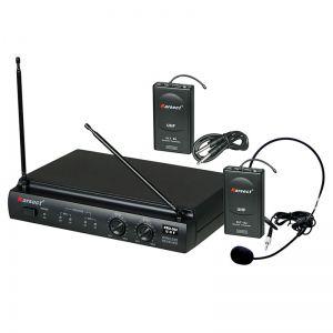 Microfone Karsect Kru302 Auricular+Transmissor