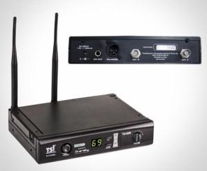 Microfone TSI 8099-UHF Sem Fio Mão Digital