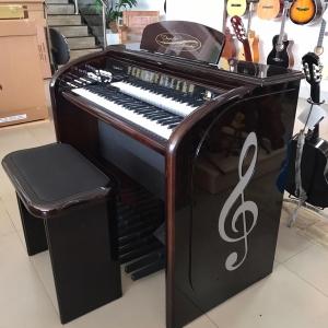 Órgão Acordes - AC500 Elegance Imbuia BRILHO - 61 Teclas
