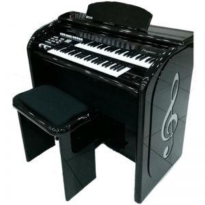 Órgão Digital Acordes AX100 Top Elegance Preto - 61 Teclas
