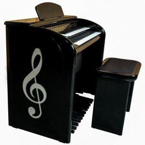 Órgão Eletrônico Digital Acordes - AX 100 Top Elegance Preto - 61 Teclas