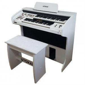 Órgão Eletrônico Tokai D2 Branco