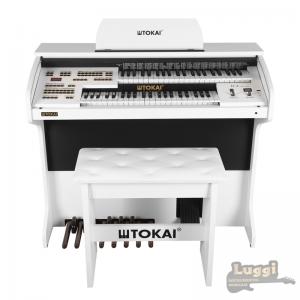 Órgão Tokai D2 Branco dual voice