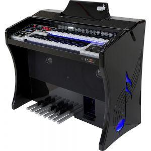 Órgão Harmonia HS-200 Super Preto Auto Brilho - 49 Teclas