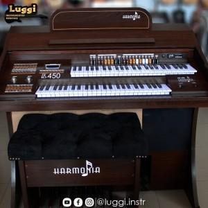Órgão Harmonia HS-450 Marrom Fosco - 49 Teclas