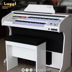 Órgão Harmonia HS-75 Branco Brilho