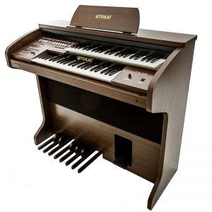 Órgão Tokai Tk100 Wengue Marrom