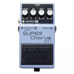 Pedal Boss Super Chorus Ch1 Guitarra