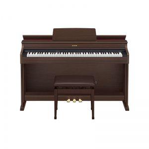 PIANO CASIO CELVIANO AP470 MARROM