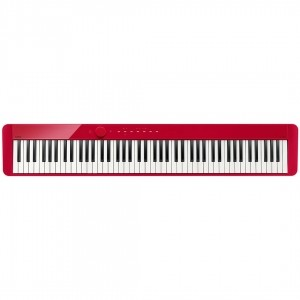 Piano Casio Privia PX S1000 Rd Vermelho 88 teclas